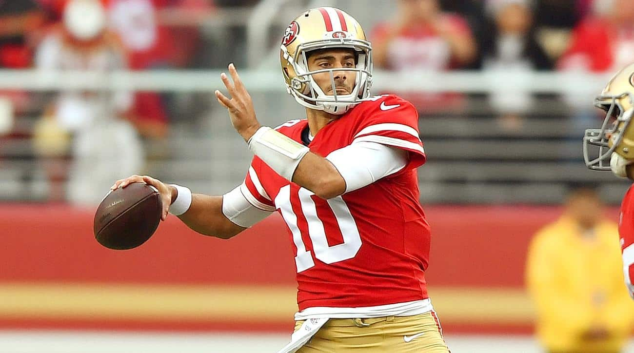Jimmy Garoppolo Getty Images