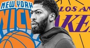 Anthony Davis Knicks Lakers