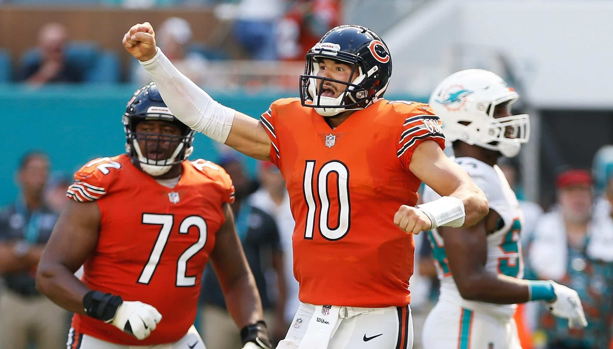 Mitchell Trubisky Getty Images