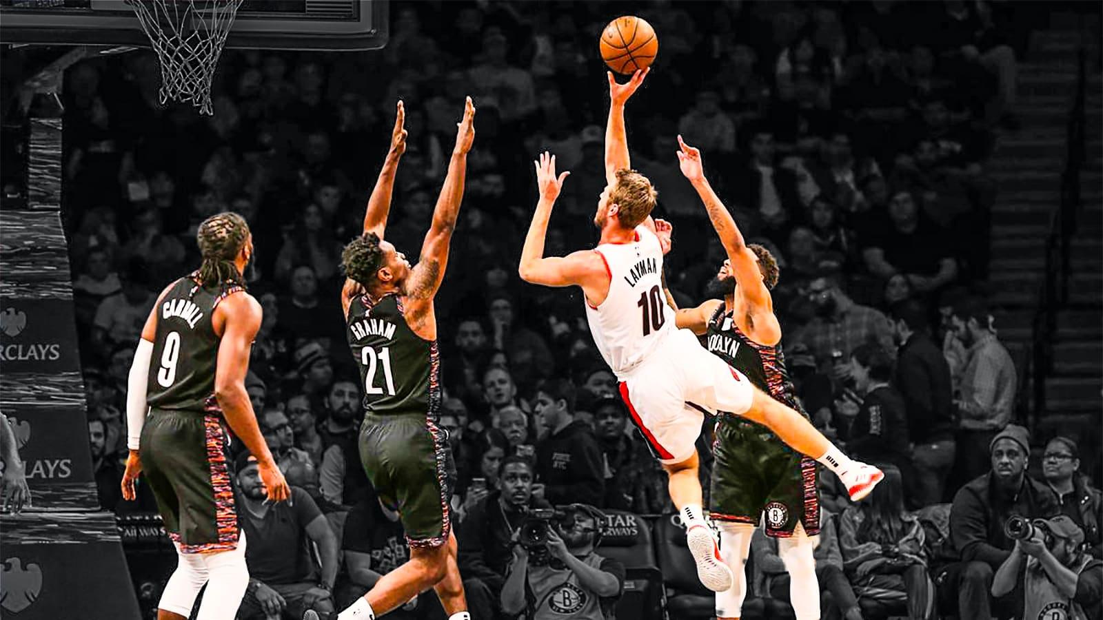 Brooklyn Nets Portland TrailBlazers