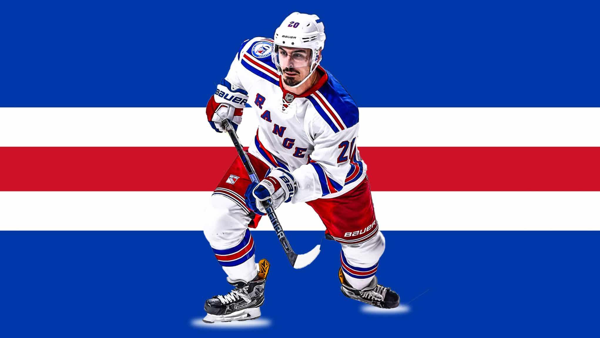 Chris Kreider New York Rangers Player Swingman Jersey