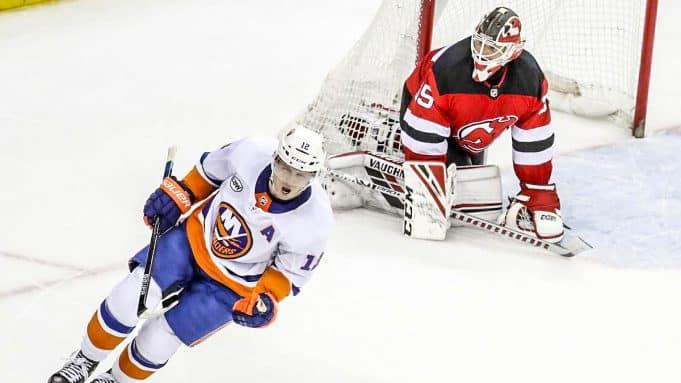 Islanders Devils