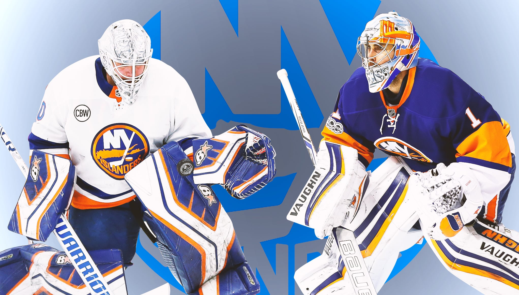 huge selection of 88a25 53ed7 New York Islanders goaltending duo reinventing the nature of ...