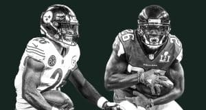 Le'Veon Bell Tevin Coleman