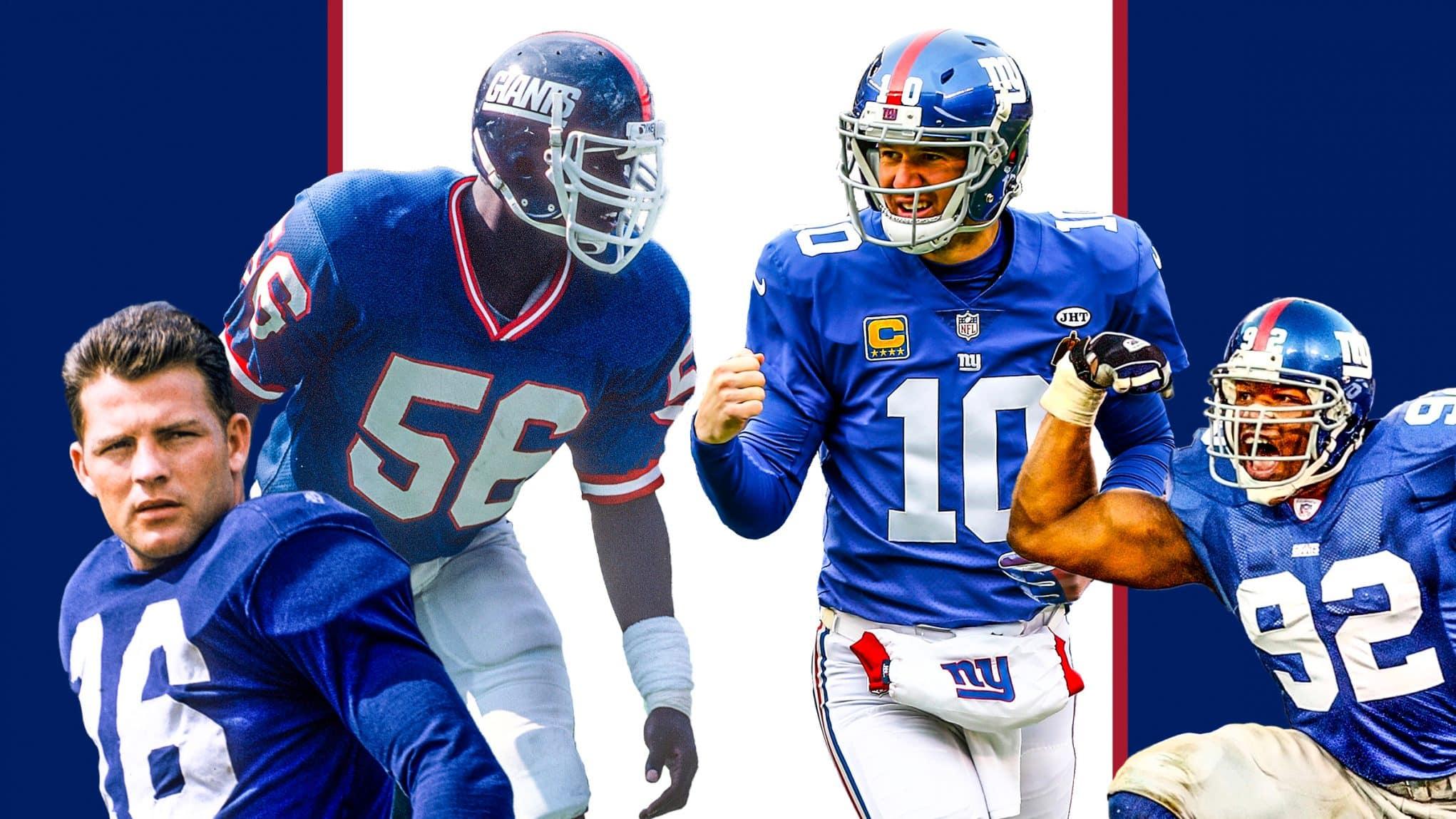 New York Giants Mount Rushmore