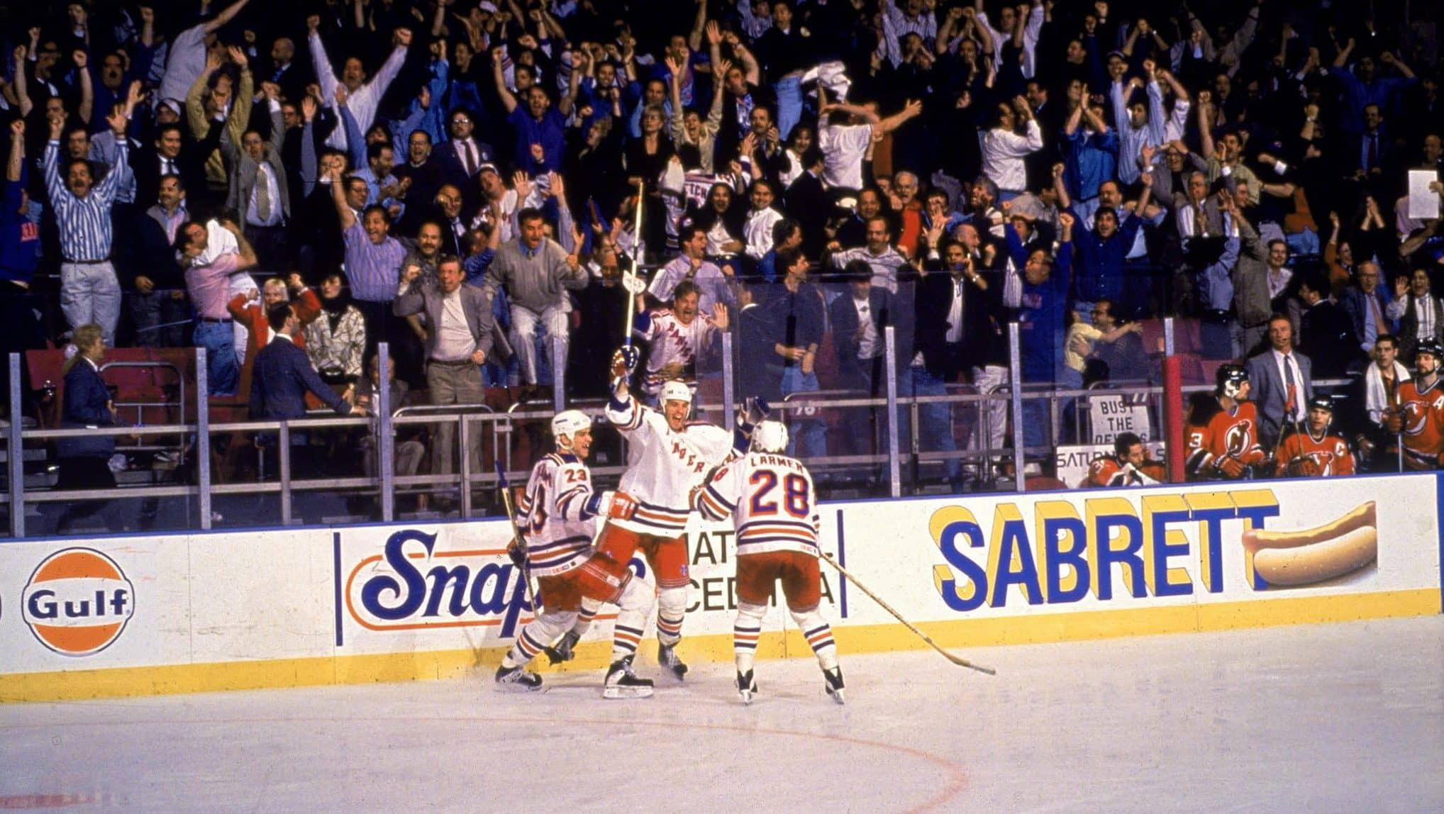 New York Rangers Video Stephane Matteau And Howie Rose Share A