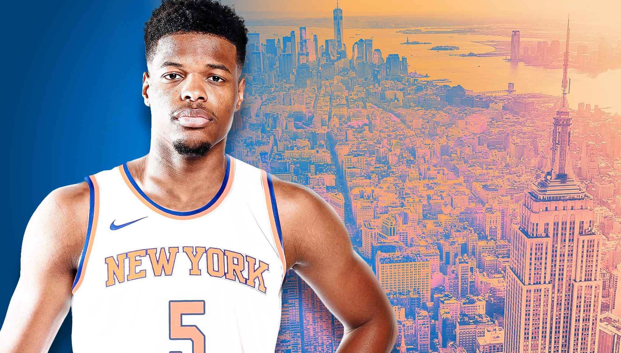 17ca777a1 New York Knicks have their long-awaited point guard in Dennis Smith Jr