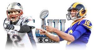 Tom Brady Jared Goff Super Bowl 53
