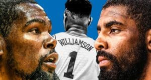 Zion Williamson Kevin Durant Kyrie Irving