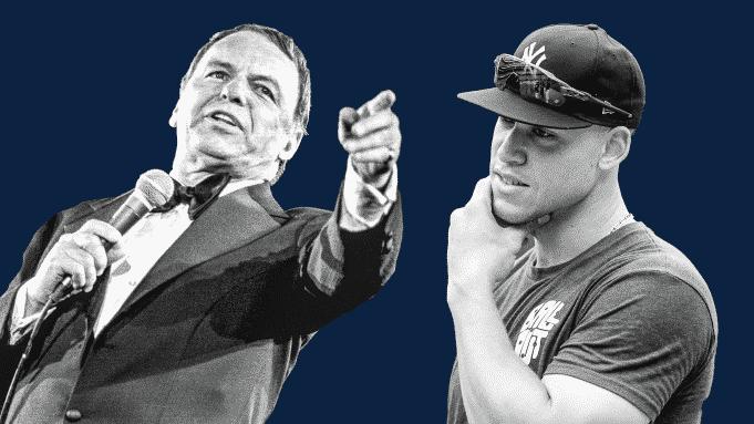 Aaron Judge Frank Sinatra