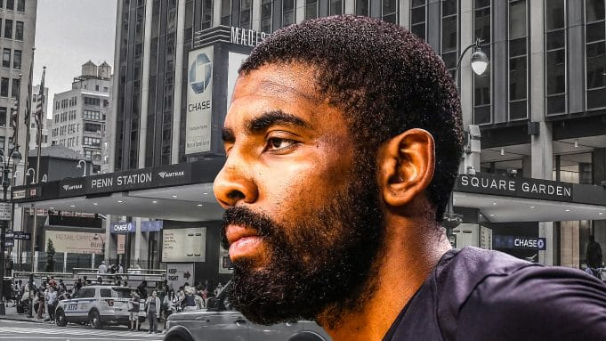 Kyrie Irving, New York Knicks