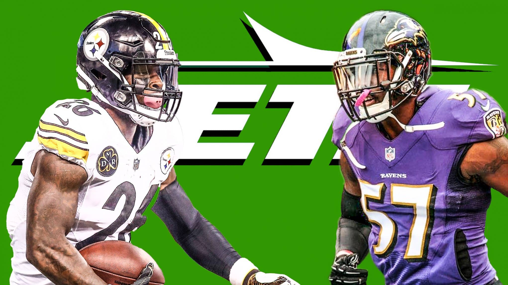 Le'Veon Bell C.J. Mosley