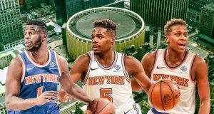 New York Knicks Point Guards