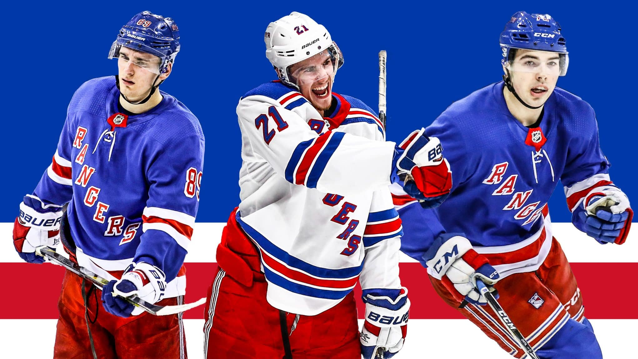 The New York Rangers lone goal for the remainder of the season ab2971494