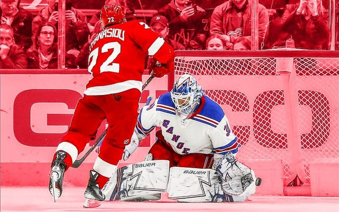 New York Rangers Detroit Red Wings