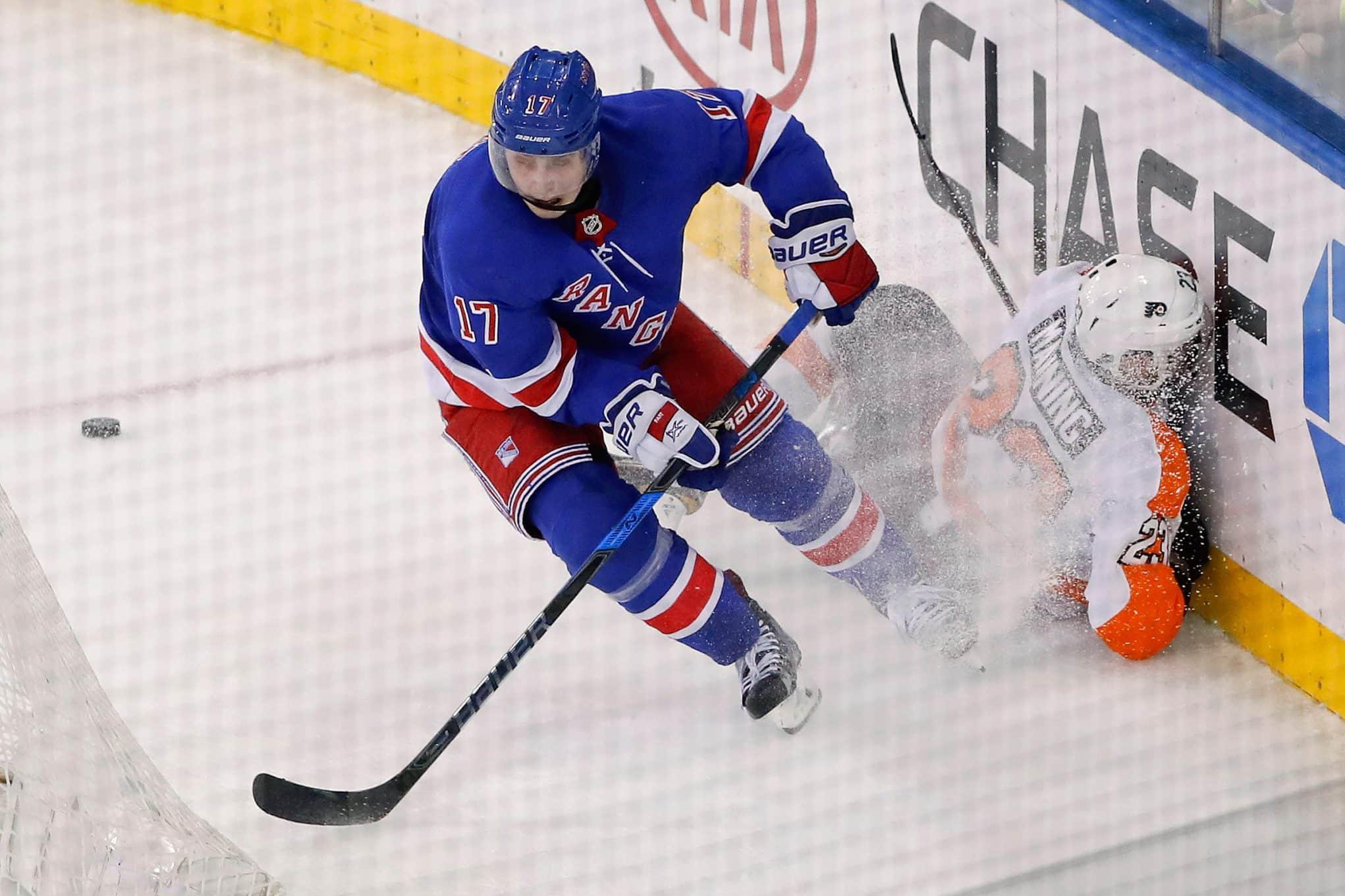 New York Rangers, Jesper Fast
