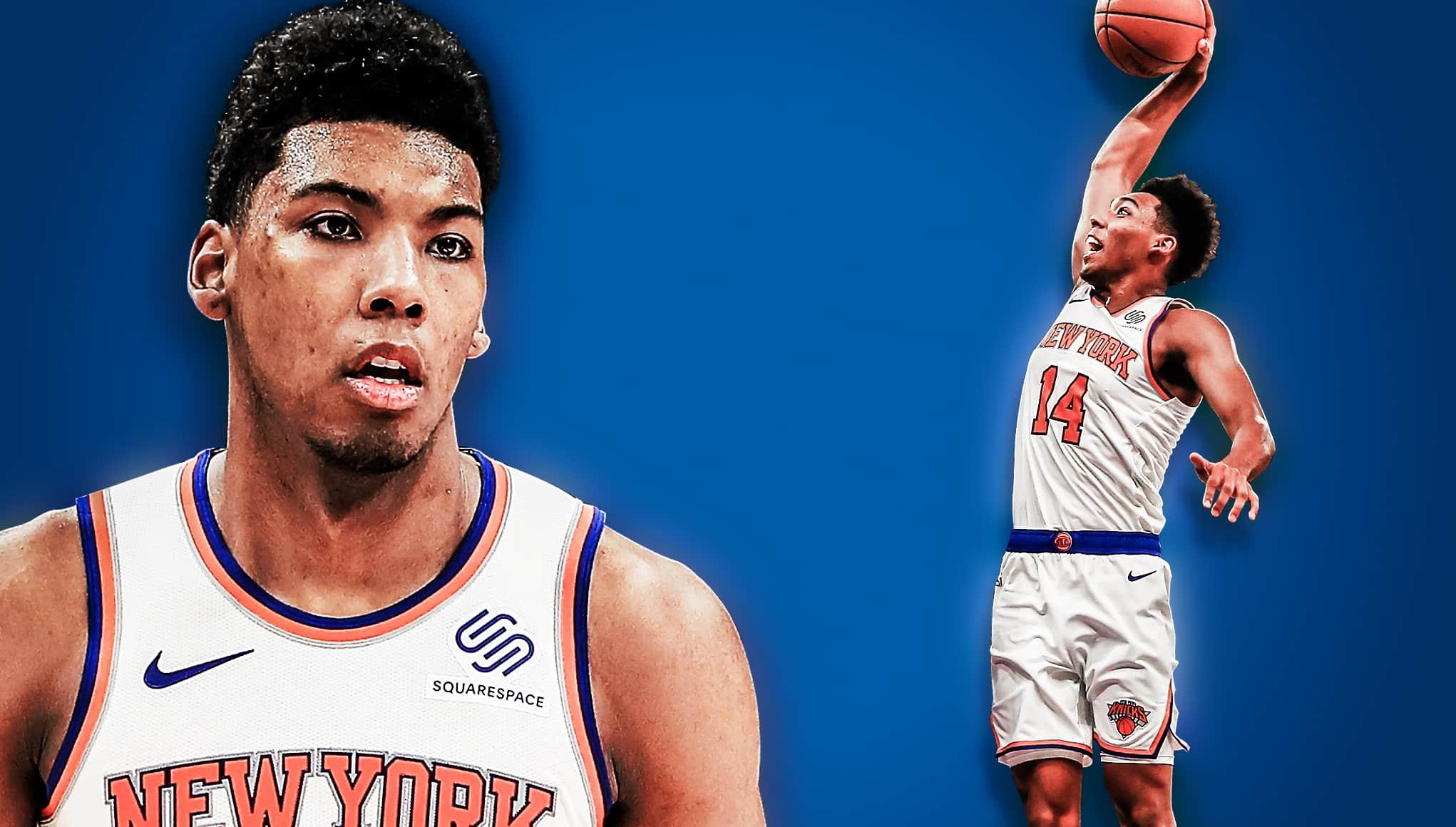 44a1e069f New York Knicks SG Allonzo Trier must prioritize his defense