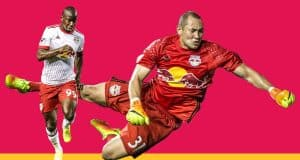 Bradley Wright-Phillips Luis Robles