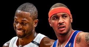 Dwyane Wade Carmelo Anthony