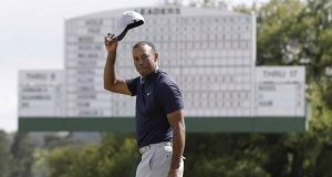 Tiger Woods Masters Golf