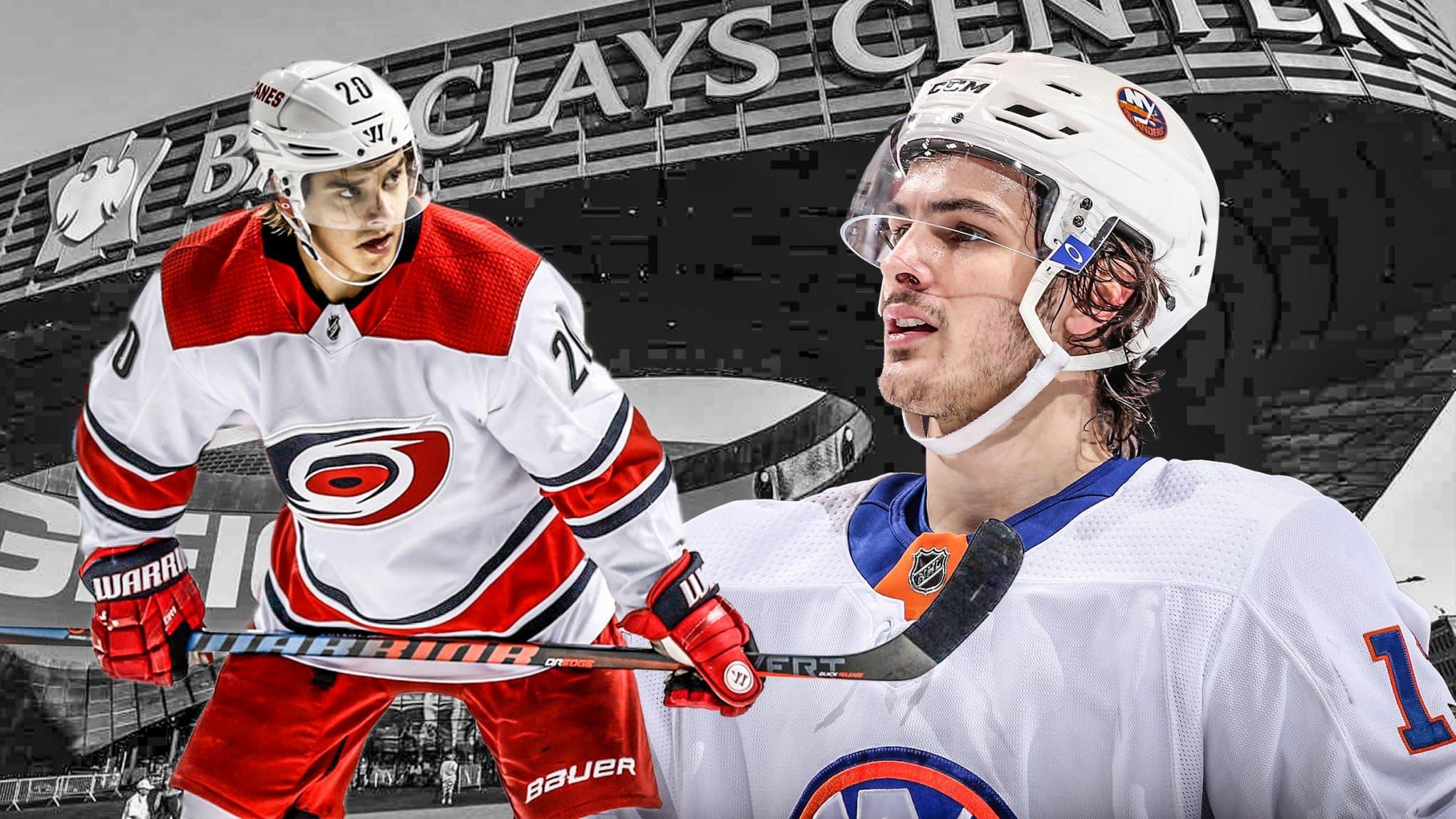outlet store af3e0 44f4b ESNY's New York Islanders-Carolina Hurricanes playoff series ...