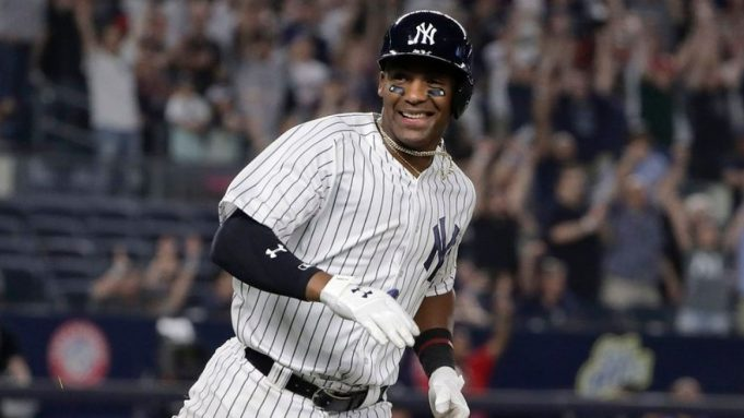 Miguel Andujar is staying positive about his injury