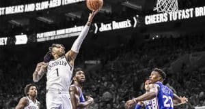 Nets 76ers Basketball