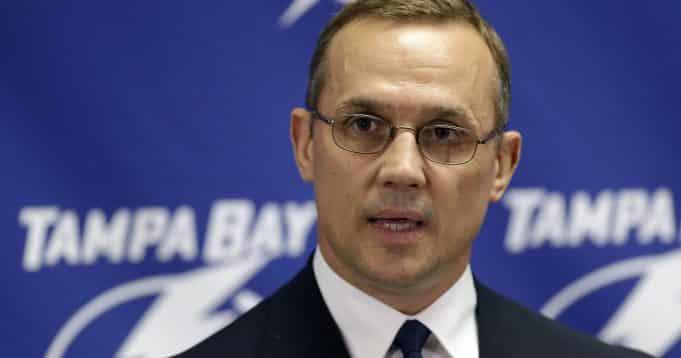 Yzerman interested in Rangers' president job
