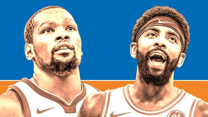 Kevin Durant Kyrie Irving