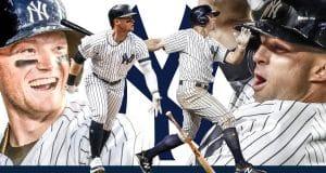 New York Yankees Clint Frazier, Brett Gardner