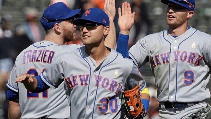 New York Mets Michael Conforto, Brandon Nimmo