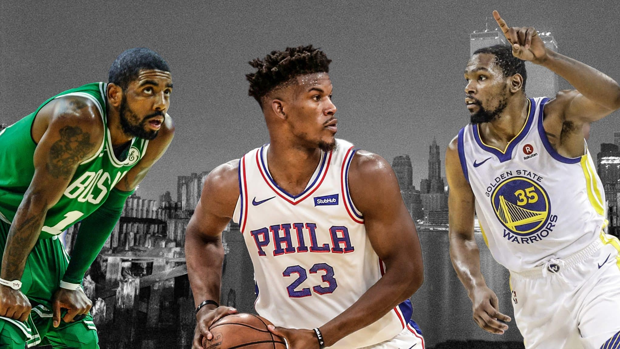 Kyrie Irving Jimmy Butler Kevin Durant