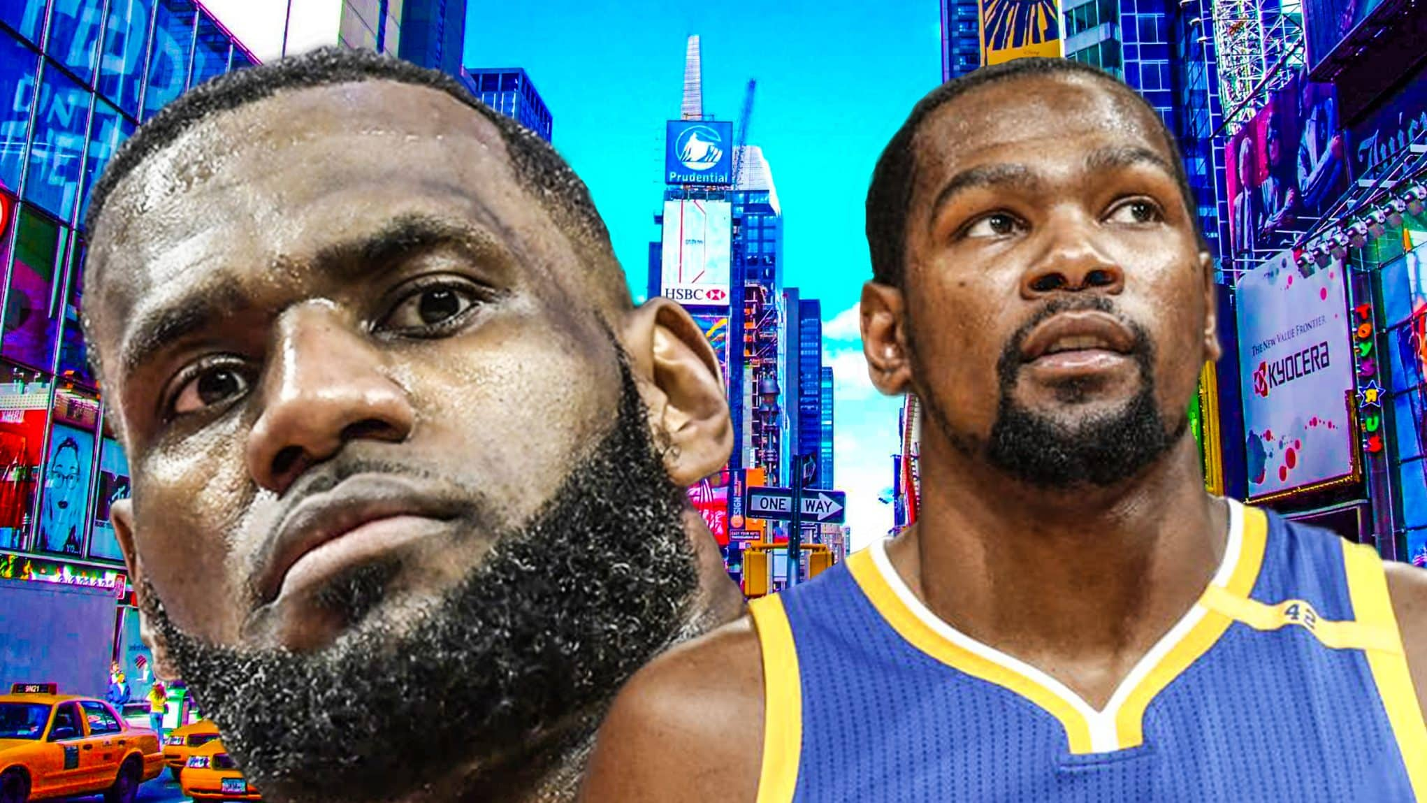 aa3da7278ea0 Kevin Durant to the New York Knicks  Why LeBron James is the key
