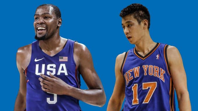 Kevin Durant, Jeremy Lin