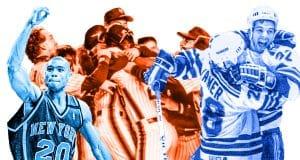 Allan Houston Stephane Matteau 1986 New York Mets