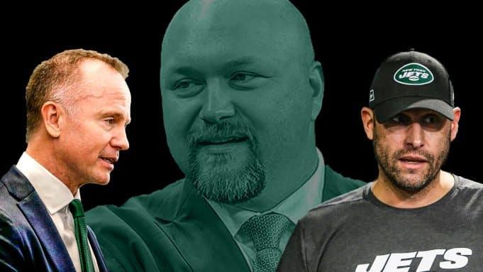 Joe Douglas, Adam Gase, Christopher Johnson