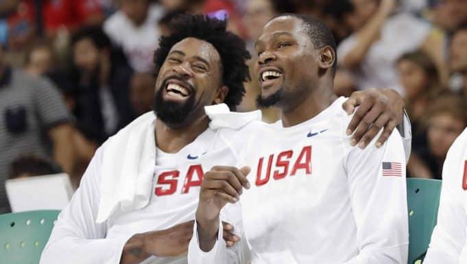 DeAndre Jordan, Kevin Durant