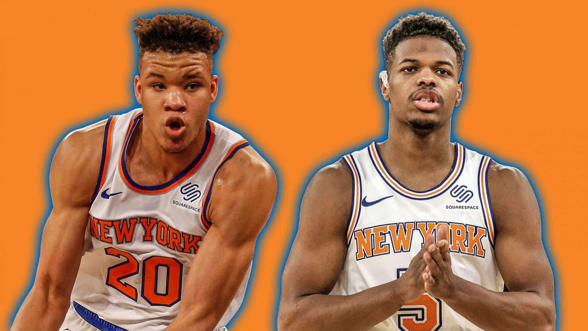 The unique paths players have taken to the New York Knicks