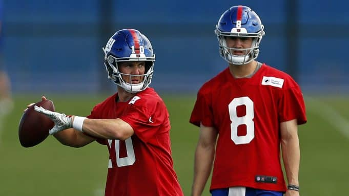 Eli Manning, Daniel Jones