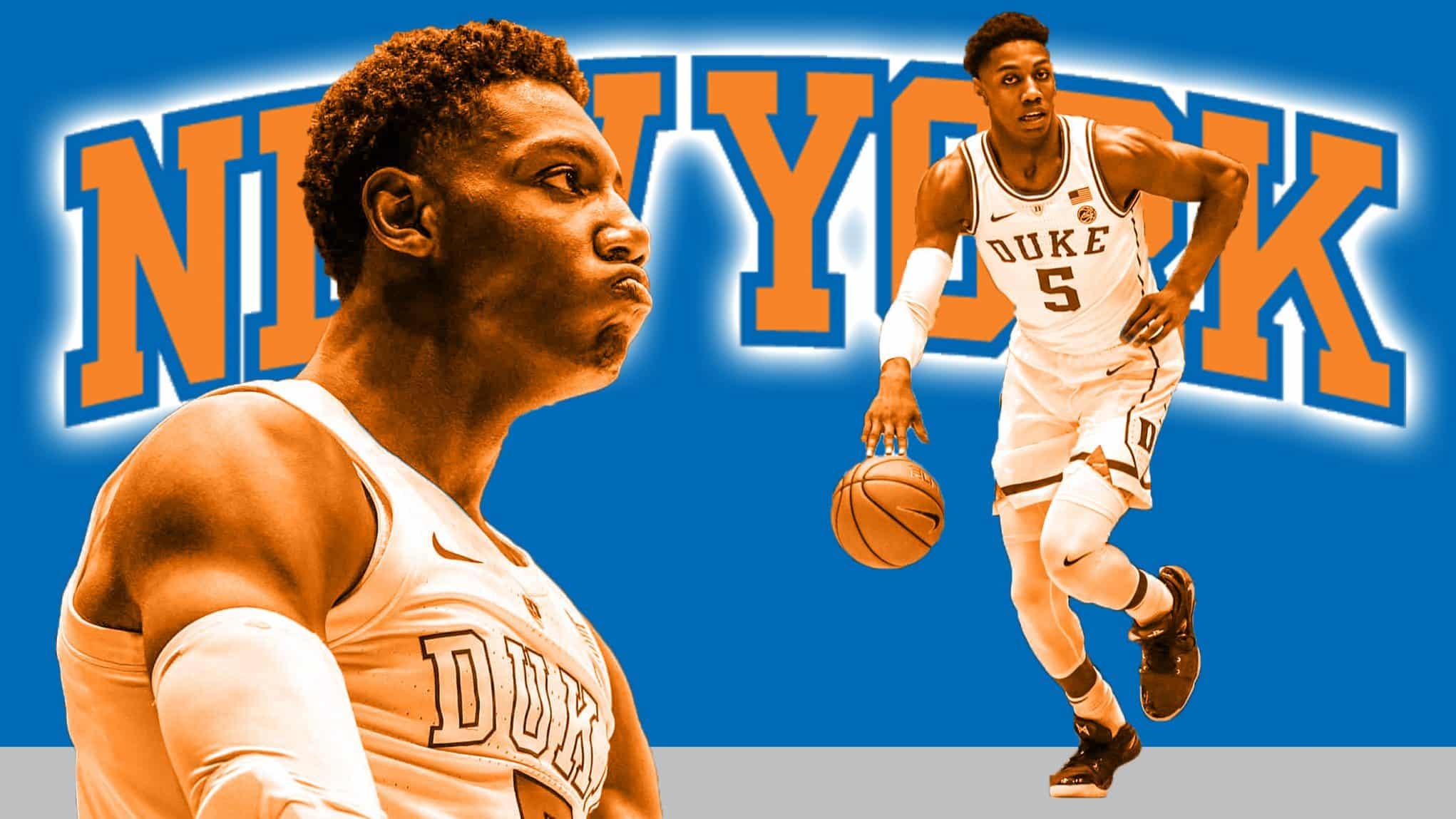 18440b9296a New York Knicks NBA Draft profile: Duke forward RJ Barrett