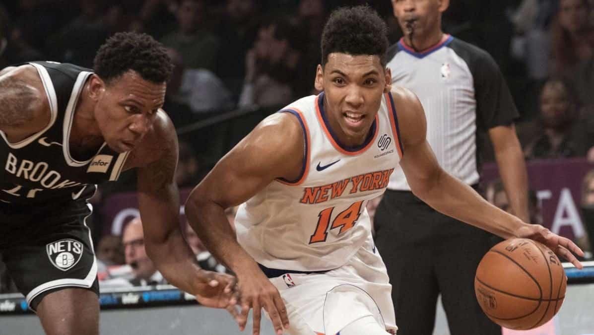 d27f6521eee New York Knicks exercise Allonzo Trier's $3.5 million option (Report)