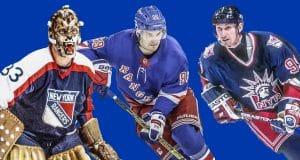 Gilles Gratton, Pavel Buchnevich, Wayne Gretzky