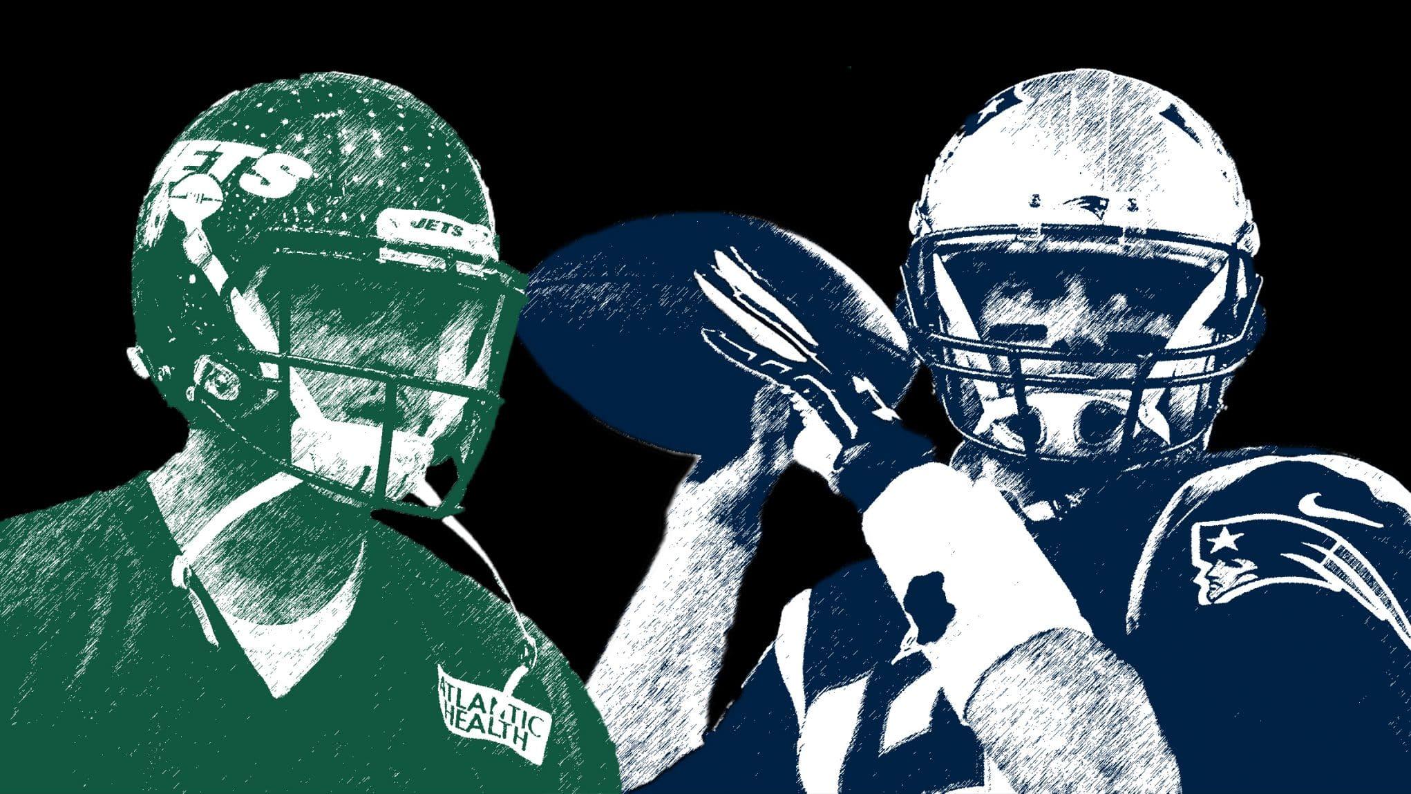 Sam Darnold, Tom Brady