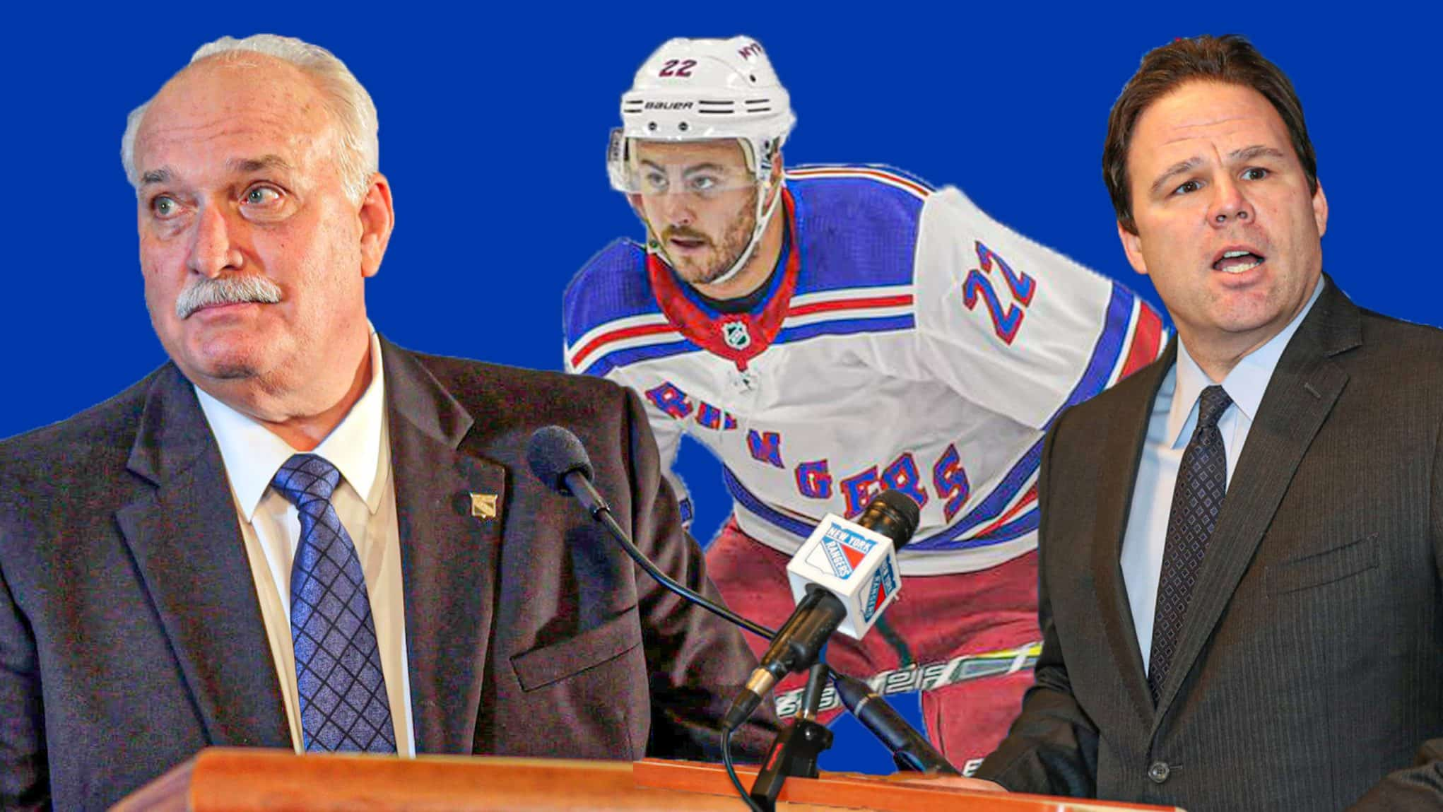 John Davidson, Kevin Shattenkirk, Jeff Gorton