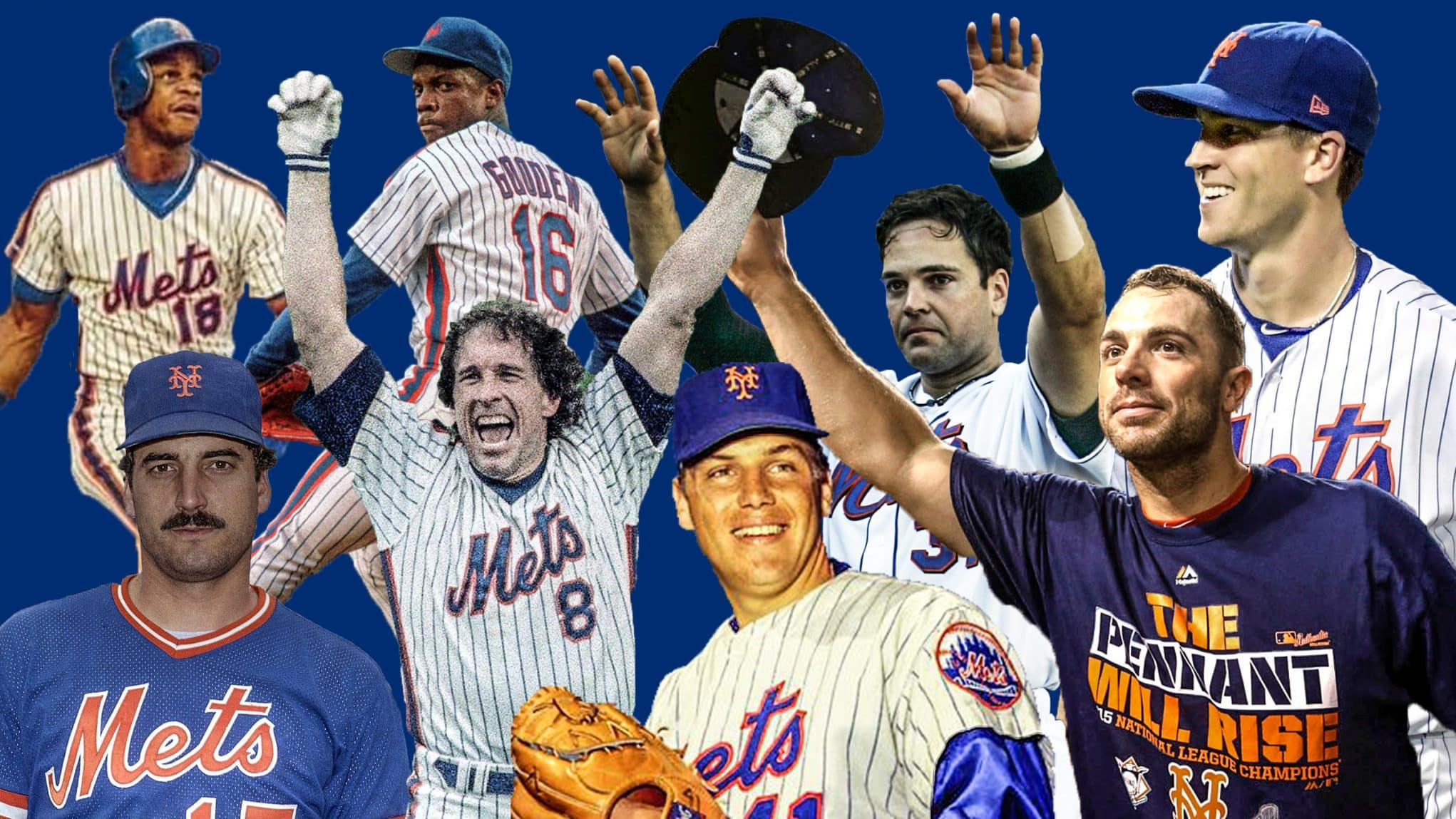 The New York Mets all time roster: Past, present and champions
