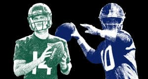 Sam Darnold, Eli Manning