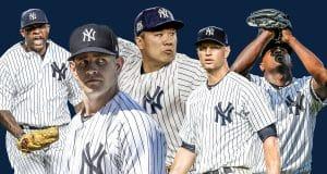 CC Sabathia, James Paxton, Masahiro Tanaka, J.A. Happ, Luis Severino