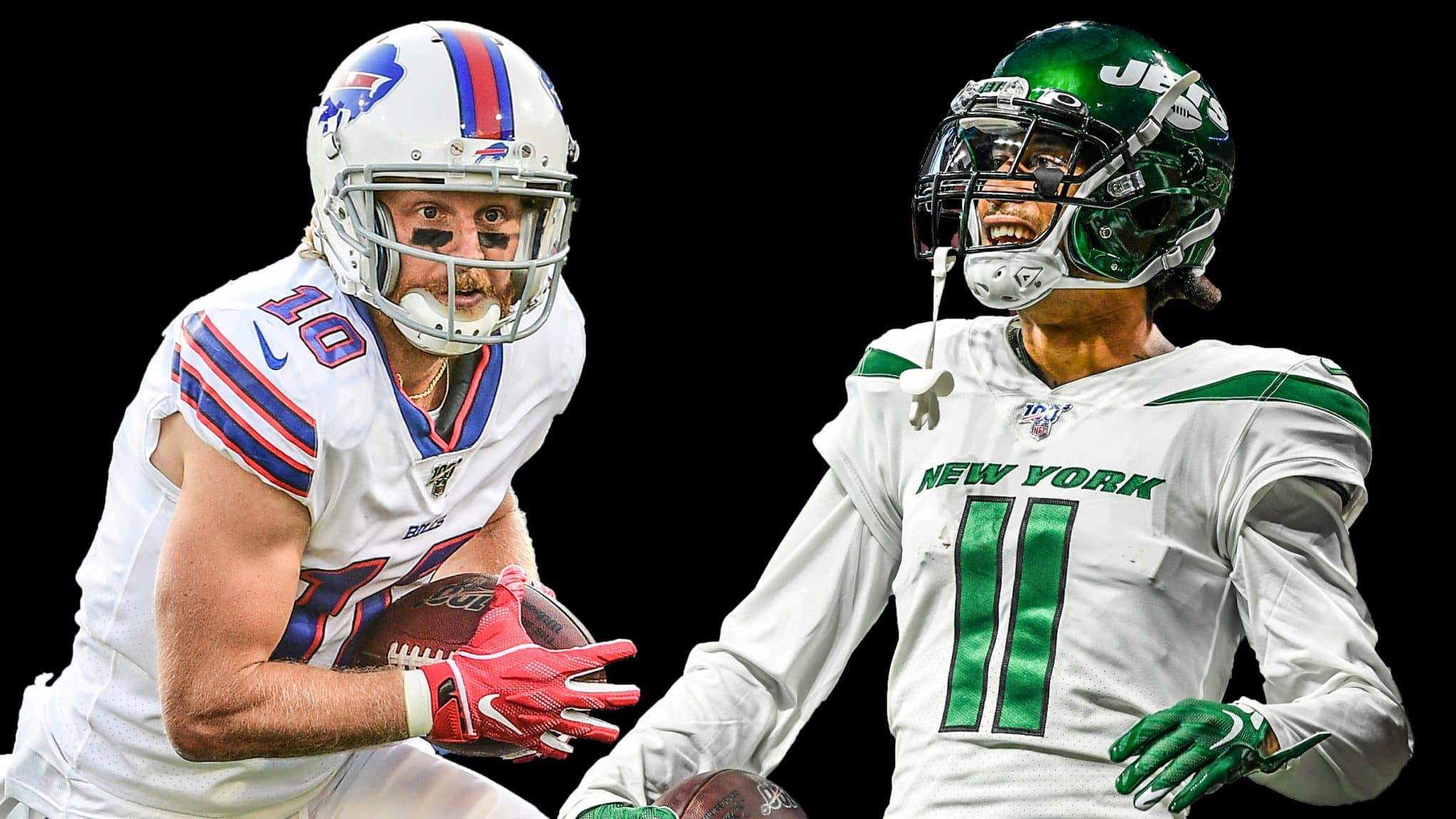 Cole Beasley, Robby Anderson
