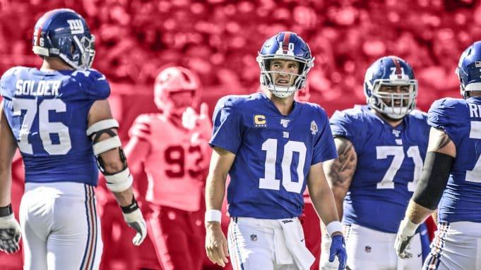 Eli Manning, Nate Solder, Will Hernandez