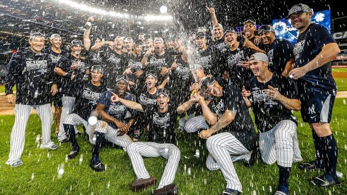 New York Yankees, AL East Champions